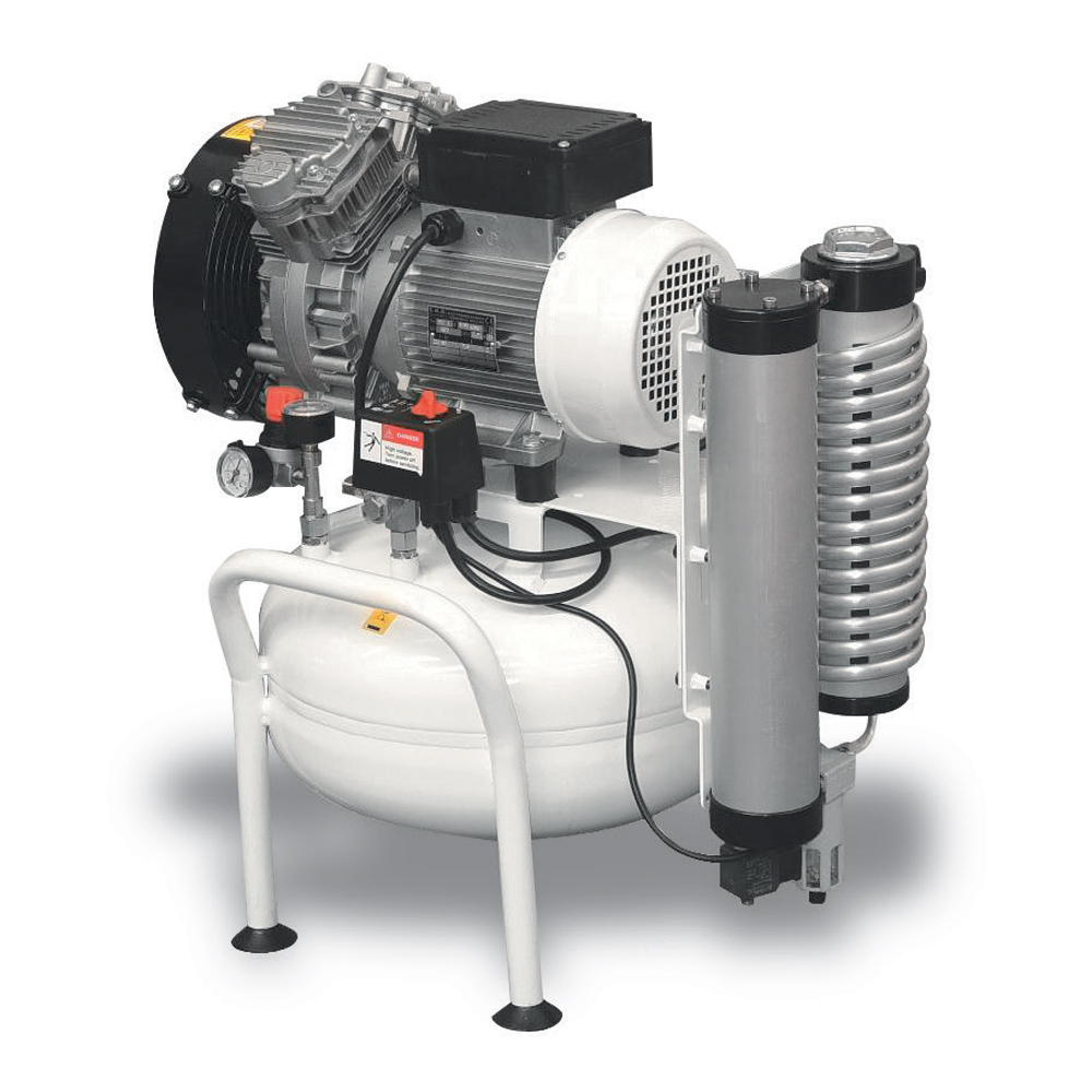 Dentálny kompresor Clean Air CLR-1,1-25M