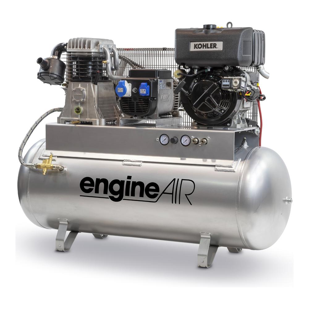 Dieselový kompresor s elektrocentrálou Engine Air EA11-7,5-270FBD