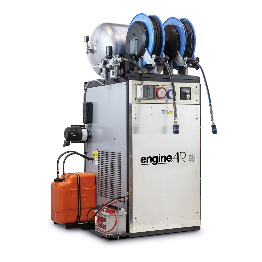 Dieselový kompresor s elektrocentrálou Engine Air EA17-12,6-90FBDS